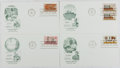 Books:Americana & American History, [First Day Covers]. Group of Four Related to Progress inElectronics. 1973. Fine. A first day cover is a stamped envelopeor...