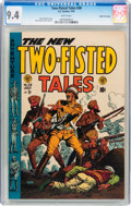 Golden Age (1938-1955):War, Two-Fisted Tales #38 Gaines File pedigree 2/12 (EC, 1954) CGC NM9.4 White pages....