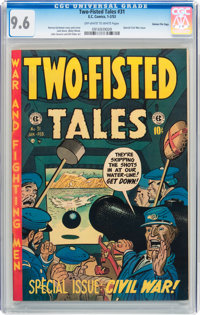 Two-Fisted Tales #31 Gaines File pedigree 2/12 (EC, 1953) CGC NM+ 9.6 Off-white to white pages