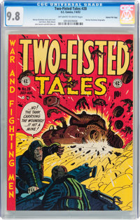 Two-Fisted Tales #28 Gaines File pedigree 2/10 (EC, 1952) CGC NM/MT 9.8 Off-white to white pages