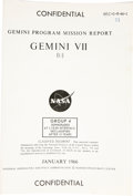 Explorers:Space Exploration, Gemini 7 Mission Archive. Gemini 7 was a 1965 manned spaceflight byFrank Borman and Jim Lovell. Included here is a collecti... (Total:5 Item)