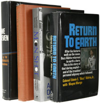 Collection of Space Travel Related Books and Brochures, including: Alan Shepard & Deke Slayton: Moon Shot (Atlan...