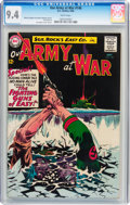 Silver Age (1956-1969):War, Our Army at War #146 (DC, 1964) CGC NM 9.4 White pages....