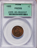 Proof Indian Cents: , 1889 1C PR65 Red and Brown PCGS. PCGS Population (43/5). NGCCensus: (58/24). Mintage: 3,336. Numismedia Wsl. Price for pro...