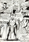 Original Comic Art:Panel Pages, Marie Severin Strange Tales #159 Doctor Strange vs. BaronMordo Page 10 Original Art (Marvel, 1967)....