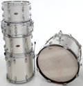 Musical Instruments:Drums & Percussion, 1960s Slingerland Silver Sparkle 5-Piece Drum Kit.... (Total: 5Items)