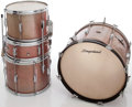 Musical Instruments:Drums & Percussion, 1960s Slingerland Champagne Sparkle 4-Piece Drum Kit.... (Total: 4 Items)