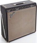 Musical Instruments:Amplifiers, PA, & Effects, 1967 Fender Super Reverb Black Guitar amplifier, Serial # A21546....