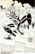 Original Comic Art:Splash Pages, Sal Buscema Spectacular Spider-Man #183 Green Goblin SplashPage 29 Original Art (Marvel, 1991)....