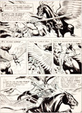 Original Comic Art:Panel Pages, Joe Kubert The Brave and The Bold #19 Viking Prince Page 3Original Art (DC, 1958)....