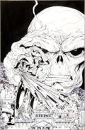 Original Comic Art:Covers, Todd McFarlane The Amazing Spider-Man #325 CoverOriginal Art (Marvel, 1989)....