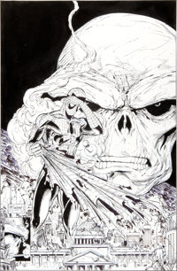 Todd McFarlane The Amazing Spider-Man #325 Cover Original Art (Marvel, 1989)