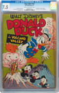 Golden Age (1938-1955):Cartoon Character, Four Color #147 Donald Duck (Dell, 1947) CGC VF- 7.5 Cream tooff-white pages....