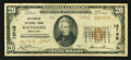 National Bank Notes:Maryland, Baltimore, MD - $20 1929 Ty. 2 Baltimore NB Ch. # 13745. ...