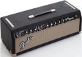 Musical Instruments:Amplifiers, PA, & Effects, 1965 Fender Bandmaster Black Guitar Amplifier Head, Serial # A12947....