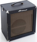 Musical Instruments:Amplifiers, PA, & Effects, 1960s Ampeg B-12N Portaflex Navy Guitar Amplifier....