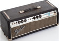 Musical Instruments:Amplifiers, PA, & Effects, Early 1970s Fender Bassman Black Guitar Amplifier Head, Serial # A35231. ...