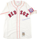 Baseball Collectibles:Uniforms, Ted Williams Signed Boston Red Sox Flannel Jersey....