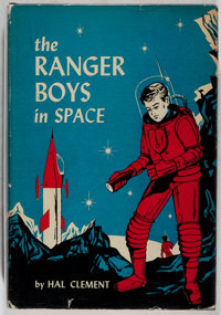 Hal Clement. SIGNED. The Ranger Boys in Space. Boston: L. C. Page, [1956]. First edi