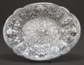 Silver Holloware, Continental:Holloware, A CONTINENTAL SILVER BOWL . Maker unknown, circa 1900. Unmarked.13-3/4 inches long (34.9 cm). 16.68 troy ounces. ...