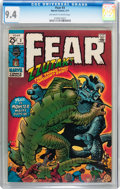 Bronze Age (1970-1979):Horror, Fear #3 (Marvel, 1971) CGC NM 9.4 Off-white to white pages....