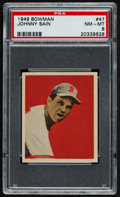 Baseball Cards:Singles (1940-1949), 1949 Bowman Johnny Sain #47 PSA NM-MT 8....
