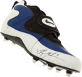 Football Collectibles:Others, Troy Aikman Signed Nike Cleat....
