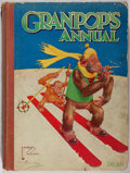 Books:Children's Books, [Lawson Wood, illustrator]. Gran'Pop's Annual. London: Dean,[n.d.,ca. 1930]. First edition....