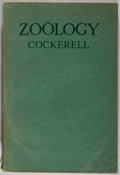 Books:Natural History Books & Prints, T. D. A. Cockerell. SIGNED. Zoology. A Textbook for Colleges and Universities. Baltimore: Reese, 1943. Reprint. In...