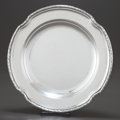 Silver Holloware, Continental:Holloware, A GEBRUDER FRIEDLANDER GERMAN SILVER TRAY . Gebruder Friedlander,Berlin, Germany, circa 1900. Marks: GEBR. FRIEDLANDER,...