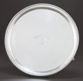Silver Holloware, British:Holloware, A JOHN MCDONALD GEORGE III SCOTTISH SILVER SALVER . John McDonald,Edinburgh, Scotland, circa 1800-1801. Marks: (Edinburgh c...