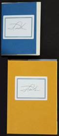 Autographs:Others, Jimmy Carter Signed Books Lot Of 2....