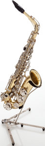Musical Instruments:Horns & Wind Instruments, Selmer Model AS300 Brass Alto Saxophone, Serial # 1311235. ...