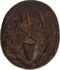 Miscellaneous:Ephemera, Hand-Forged Bronze Wax Seal Stamp....