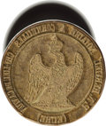 Miscellaneous:Ephemera, Second French Empire Government Wax Seal Stamp....