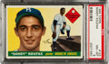 Baseball Cards:Singles (1950-1959), 1955 Topps Sandy Koufax #123 PSA NM-MT 8....