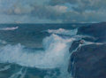 Maritime:Paintings, FRANK W. HANDLEN (American, b. 1916). Eternal Sea. Oil oncanvas. 46 x 62 inches (116.8 x 157.5 cm). Signed lower right:...