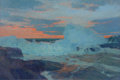 Maritime:Paintings, FRANK W. HANDLEN (American, b. 1916). Sunset & Breakers.Oil on canvas. 40 x 60 inches (101.6 x 152.4 cm). Signed lower ...