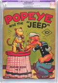 Platinum Age (1897-1937):Miscellaneous, Feature Books #3 Popeye (David McKay Publications, 1937) CGCApparent FN+ 6.5 Slight (P) Cream to off-white pages....