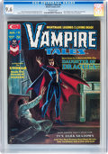 Magazines:Horror, Vampire Tales #6 (Marvel, 1974) CGC NM+ 9.6 Off-white pages....