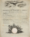 Autographs:U.S. Presidents, Andrew Jackson Naval Appointment Signed...