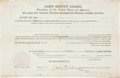 Autographs:U.S. Presidents, John Quincy Adams Land Grant Signed...