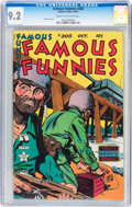 Golden Age (1938-1955):Adventure, Famous Funnies #208 (Eastern Color, 1953) CGC NM- 9.2 Cream to off-white pages....