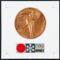 Miscellaneous Collectibles:General, 1972 Winter Olympics Commemorative Medal....
