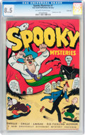 Golden Age (1938-1955):Romance, Spooky Mysteries #1 Carson City pedigree (Your Guide Publishing Co., 1946) CGC VF+ 8.5 Off-white to white pages....