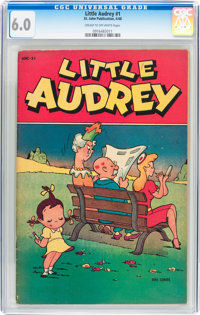 Little Audrey #1 (St. John, 1948) CGC FN 6.0 Cream to off-white pages
