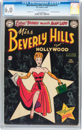 Golden Age (1938-1955):Romance, Miss Beverly Hills of Hollywood #1 (DC, 1949) CGC FN 6.0 Off-whiteto white pages....