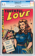 Golden Age (1938-1955):Romance, Youthful Love #1 (Youthful Magazines, 1950) CGC VF+ 8.5 Off-whiteto white pages....