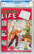 Golden Age (1938-1955):Non-Fiction, Young Life #1 Carson City pedigree (Quality Comics, 1945) CGC NM-9.2 Off-white to white pages....