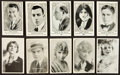Non-Sport Cards:Lots, 1917-1920's Movie Stars & Celebrities Card Collection (94). ...